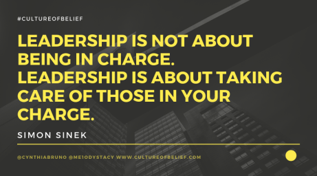 leadership is not about